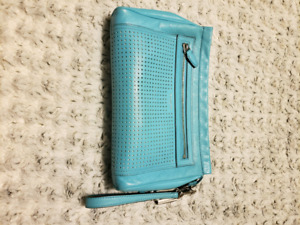 Coach clutch bag and wallet