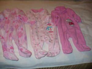 Infant Girls Sleepers Size 3 Months London Ontario image 1
