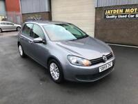 2009 VOLKSWAGEN GOLF S 1.6 TDI S 5 DOORS MANUAL 69000 MILES WITH SERVICE HISTORY