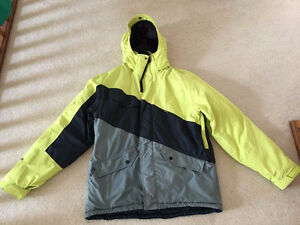 Ripzone men's ski/snowboard jacket and Oakley pants