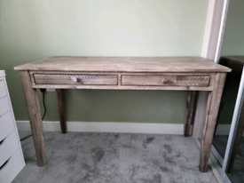 Vintage looking desk / console table