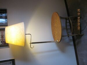 Lamp and Magazine Rack Combo