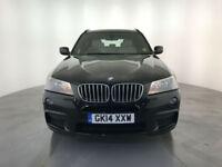 2014 BMW X3 XDRIVE 30D M SPORT AUTO DIESEL SERVICE HISTORY FINANCE PX