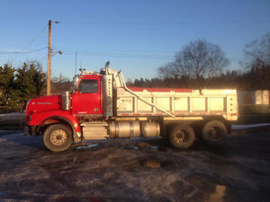 2013 Western Star Dump Truck and 2013 Pony steel box for Sale