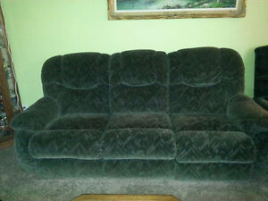 WHAT A DEAL!! Sofa with reclining seats!!