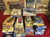 Various Model kits ... individual or bulk sell