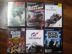 All 6 Games $5!! Playstation 2