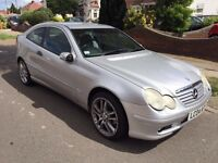 *Value for money* Mercedes C Class Coup 2.1 Diesel. Automatic. 2004