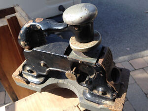 VINTAGE CAST IRON DATE STAMP PRESS MONTREAL CANADA