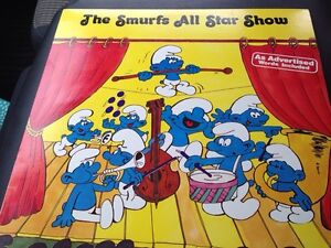 1981 excellent condition smurf LP Gatineau Ottawa / Gatineau Area image 1