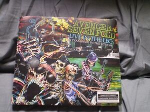 cd/dvd avenged sevenfold/live in the lbc & diamond in the rough