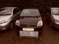 Ford Fiesta 1.6 automatic LX 5 door hatchback 2004