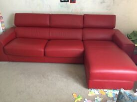 DFS RIGHT HAND 3 SEATER SOFA BED