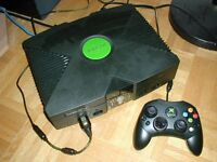 xBox Console with Controller
