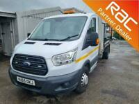 2015 Ford Transit 2.2 TDCi 155ps Chassis Cab Tipper Truck Diesel Manual