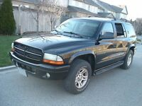 2001 Dodge Durango 4x4 8 Seater