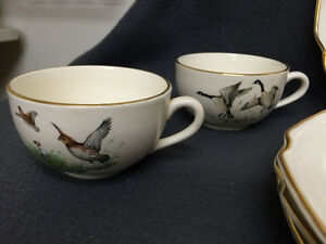 4 Game Bird Sandwich Plate & Cup Combo London Ontario image 5