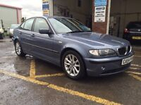 BMW 3 series, 2004/54, 1 owner car, turbo diesel, long mot, £2495