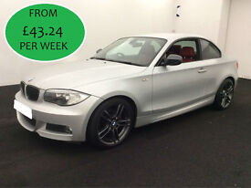 FROM £175.31 PER MONTH - BMW 120 TD 2.0 M SPORT COUPE MANUAL DIESEL
