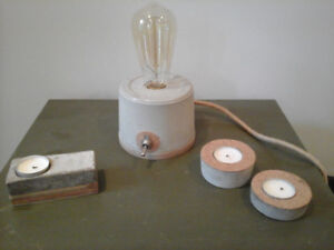 Lampes style industriel