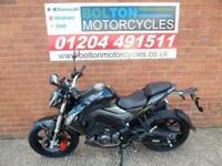 KEEWAY RKF125 MOTORCYCLE FINANCE FROM £100 DEPOSIT