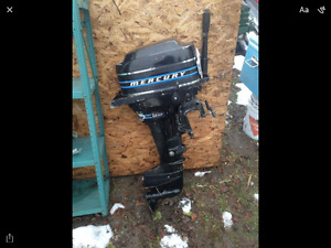 Mercury 9.8hp for parts only