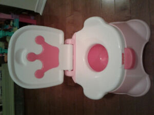 New Fisher Price Battery Operated Musical Potty Toilet