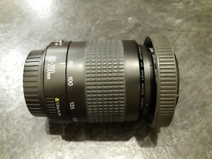Canon 80-200mm zoom lens