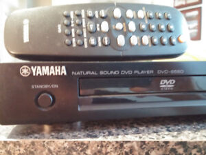Yamaha dvd-s550 player