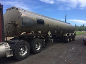 2012 HUTCHINGSON 38000 TC406 crude water sprayer tank