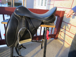 SELLE ANGLAISE - COMME NEUVE - CLIFF BARNSBY - AVEC HOUSSE