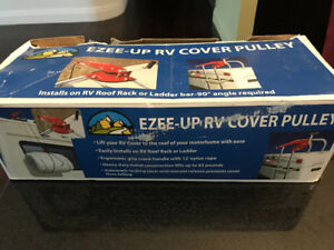 RV COVER, Class A and RV cover PULLEY