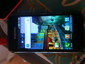 Samsung Galaxy S. Good condition, Bell network.
