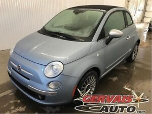 Fiat 500 Lounge Convertible Cuir Mags A/C 2013