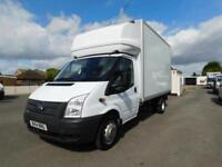 2014 14 FORD TRANSIT LUTON with tail lift.