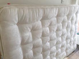 Laura Ashley pocket sprung pillow top DOUBLE mattress