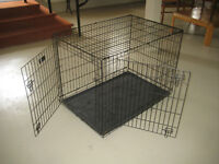 Large Folding Dog Crate/Kennel