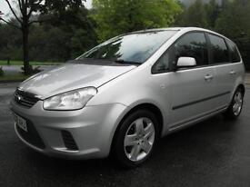 08/08 FORD FOCUS C-MAX STYLE 1.8 TDCI 5DR MPV IN MET SILVER