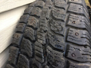17'' studded winter tires for sale