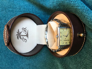 Tommy Bahama Sterling Silver and Stainless Watch