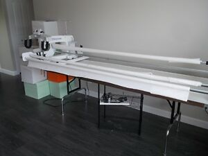 ALMOST NEW HANDI QUILTER 16.... LONG ARM QUILTER