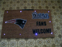 Patriot's welcome mat
