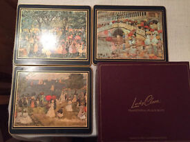 Two boxes of vintage Lady Clare placemats