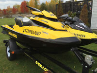 Seadoo Package - 2011 RXT 260 + 2003 GTX 185 + Trailer + more