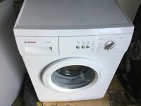 Bosch max6 washing machine in mint condition with a warranty of three months