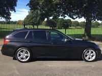 2013 13 BMW 3 SERIES 3.0 330D M SPORT TOURING 5D AUTO 255 BHP DIESEL