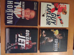 Hockey Greats: Remembering...series (4 books)