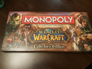 World of Warcraft Monopoly new