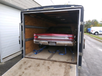 Vehicle trailering, storage north Am wide, pick up and delivery