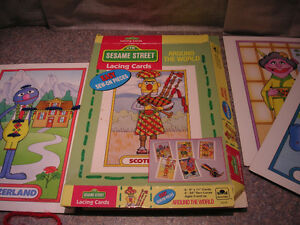 Vintage Sesame Street Games Kitchener / Waterloo Kitchener Area image 8